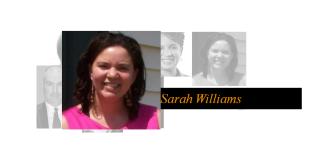 Sarah Williams Featured